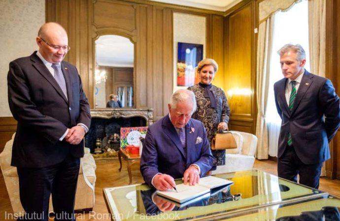 Károly herceg a londoni Román Kulturális Intézmény vendége