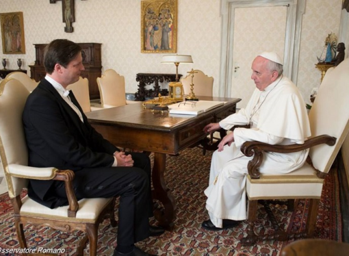 A Habsburg with a Twitter account: an interview with Hungary's ambassador to the Vatican
