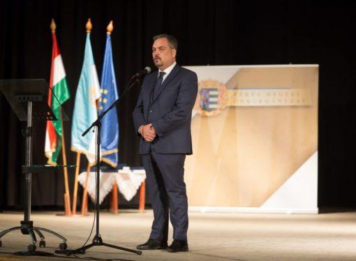Awarding by the Békés County Council- the Nationality Award