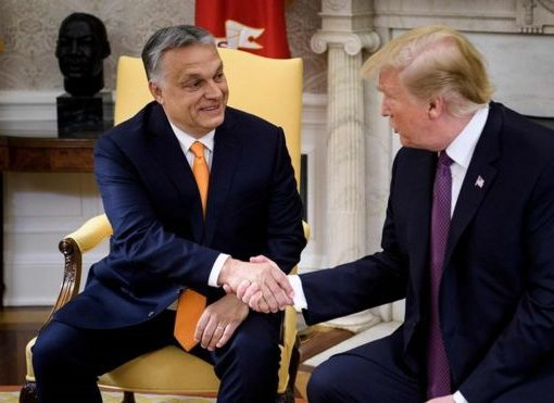 Orbán Viktor was received by Donald Trump