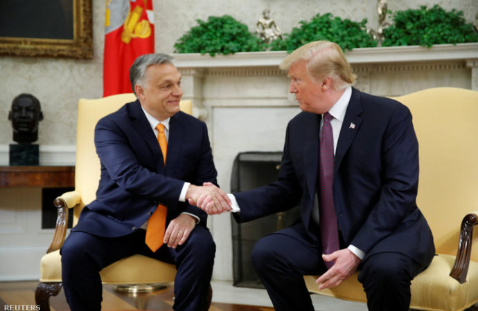 "Donald Trump to Orbán: ""You're controversial like me, but you did a good job"""