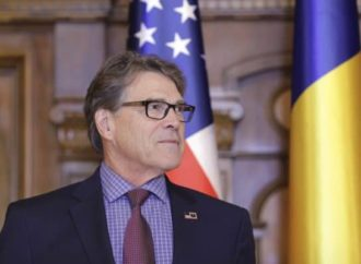 "US Energy Secretary Rick Perry ""worried"" about the fact that the Romanian government wants to build two new reactors at Cernavoda with a Chinese state-owned company"