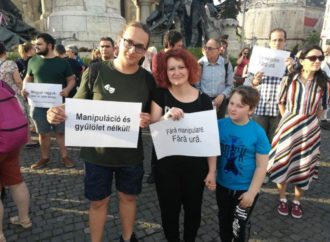 Demonstration for interethnic solidarity in Cluj-Napoca